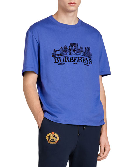 Burberry Skyline Graphic T-Shirt