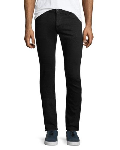 Axl Stretch-Denim Skinny Jeans, Black