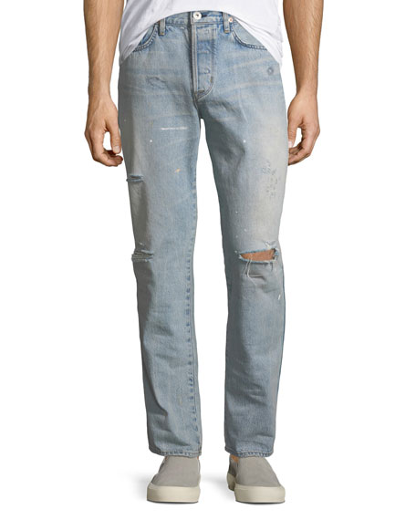 Men's Dixon Easy Straight Jeans, Lone Wolf