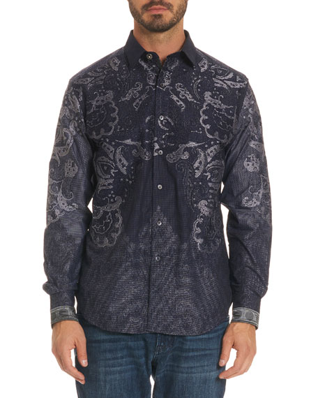 Robert Graham Limited Edition Paisley-Print Sport Shirt