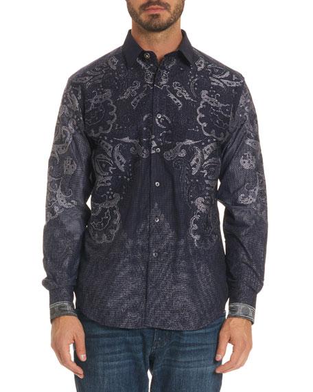 Robert Graham Limited Edition Paisley-Print Sport Shirt