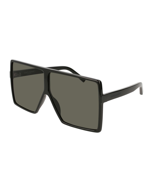 d090486186 Saint Laurent SL 183 Betty Acetate Shield Sunglasses