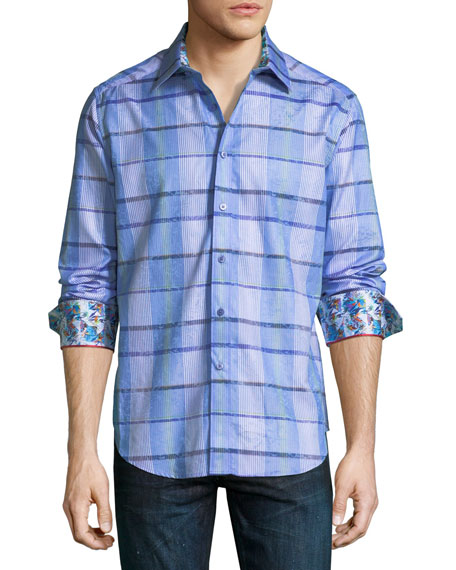 Robert Graham Ferro Long-Sleeve Sport Shirt