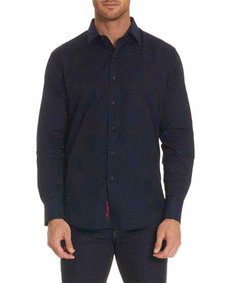 Robert Graham Monte Tonal-Print Sport Shirt