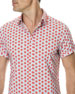 Men's Mellons Bay Watermelon Short-Sleeve Sport Shirt