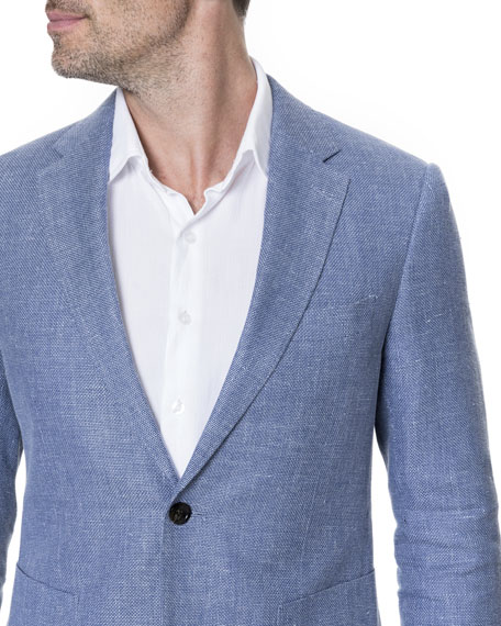 Enfield Textured Linen Jacket