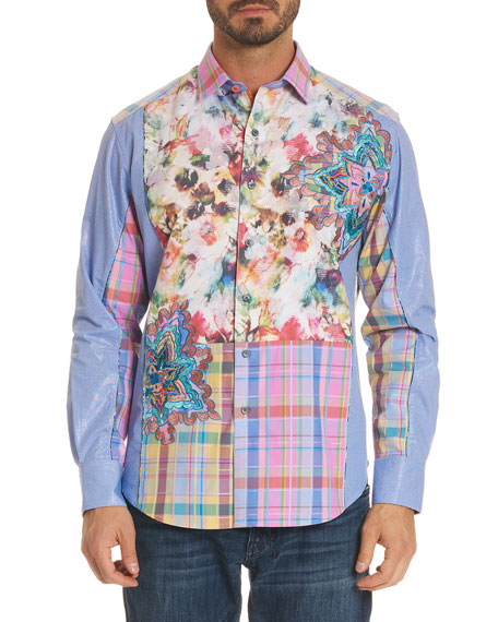 Robert Graham Limited Edition Be Frank Patched Sport