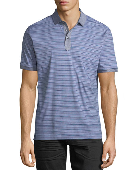 Soto Striped Polo Shirt
