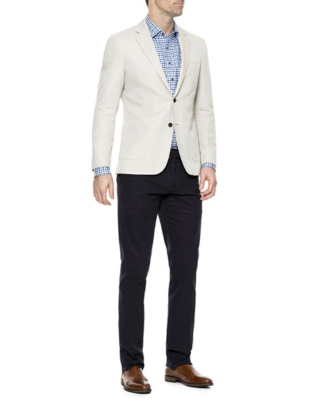 Men's Maxwell Valley Linen-Blend Blazer