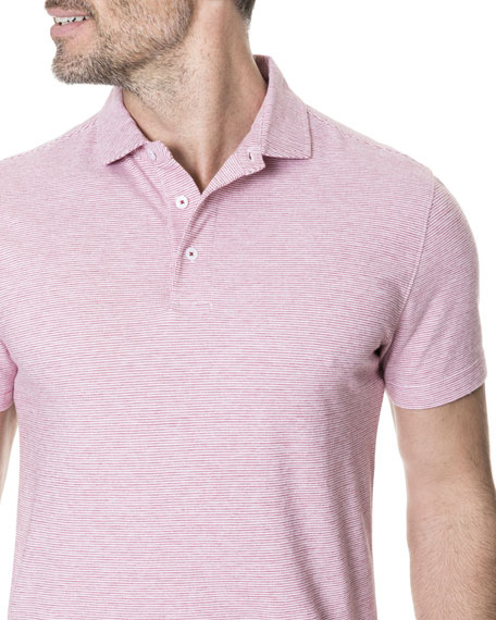 Men's Cascade Creek Heathered Polo Shirt