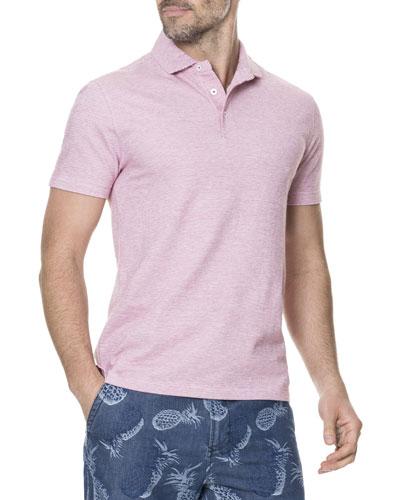 Men's Cascade Creek Heathered Polo Shirt