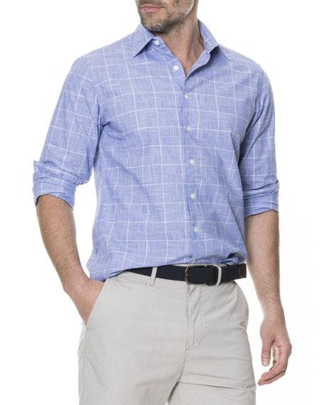 Men's Tussock Creek Grid Sport Shirt
