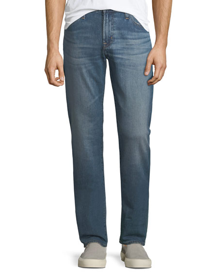 AG Adriano Goldschmied Graduate Straight-Leg Denim Jeans