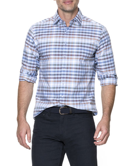 Rothesay Plaid Sport Shirt