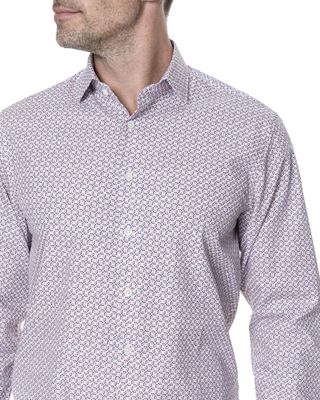 Market Cross Floral Sport Shirt