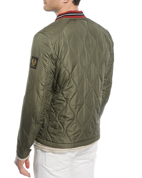 Haverford Quilted Bomber Jacket