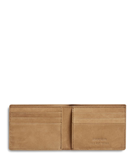 Men's Outrigger Slim Leather Bi-Fold Wallet