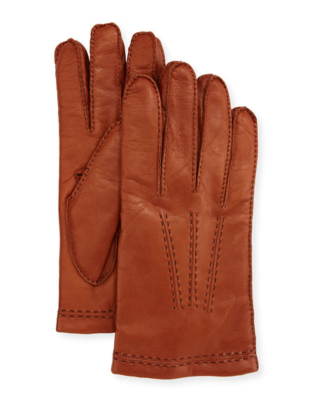 Guanti Giglio Fiorentino Three-Cord Napa Leather Gloves