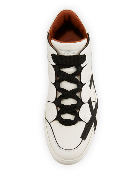 Tiziano Men's High-Top Leather Sneakers