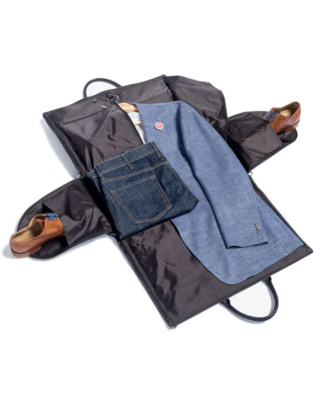 Twill Garment Weekender Bag