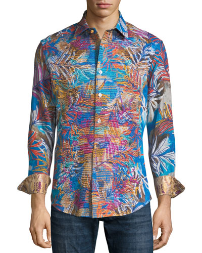 Limited Edition Kingpin Louie Printed Sport Shirt