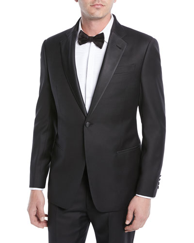 Super 130s Wool Two-Piece Tuxedo