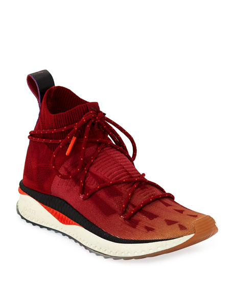 Men's TSUGI evoKnit Mid-Top Sneakers
