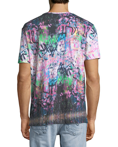 Men's Prey Graffiti Graphic T-Shirt