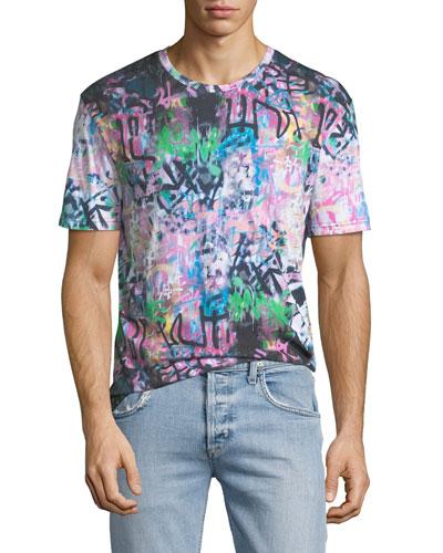 Men's Prey Graffiti Graphic T-Shirt
