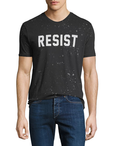 Men's Resist Typographic T-Shirt