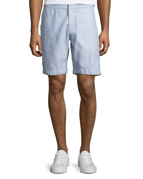 Orlebar Brown Dane II Striped Twill Shorts