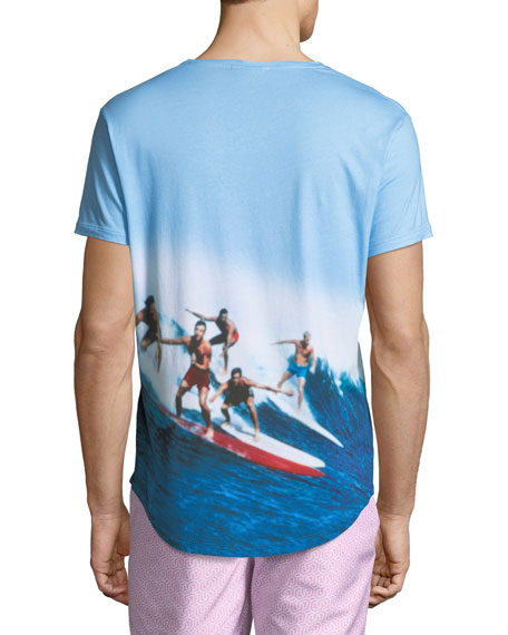"""Swell Guys"" Photographic-Print T-Shirt"