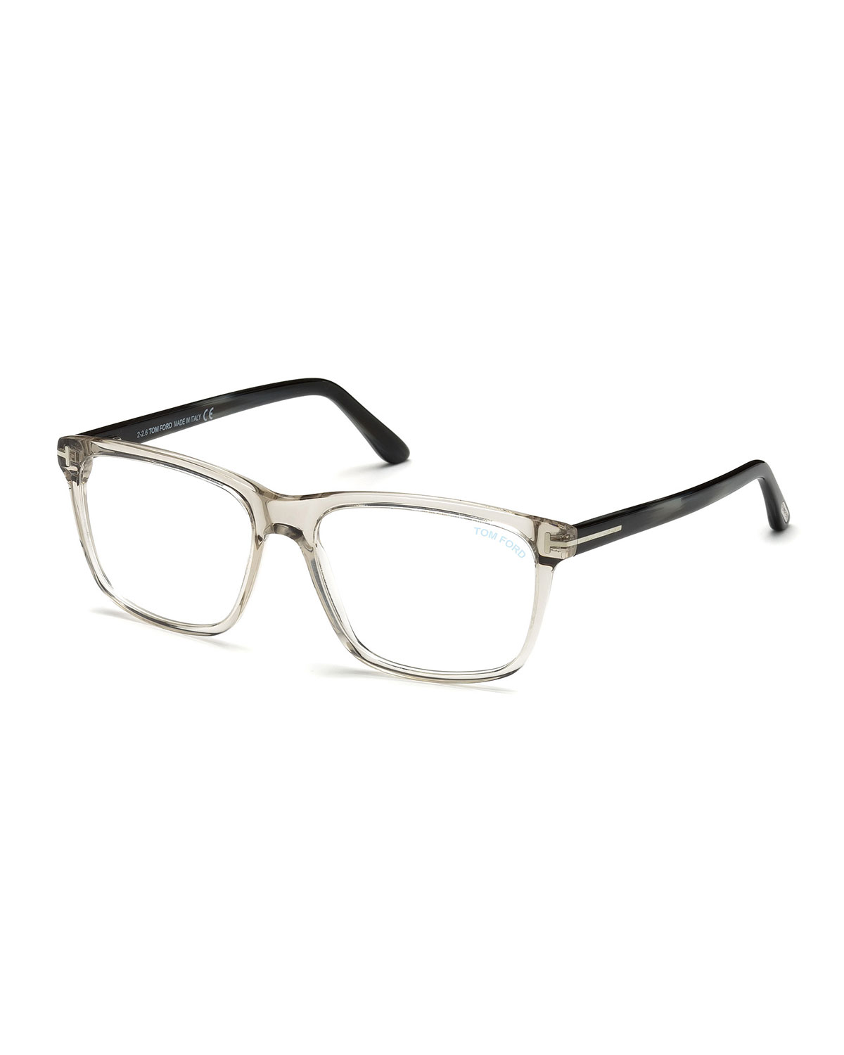 52ae4d2bf05 TOM FORD Square Acetate Optical Glasses