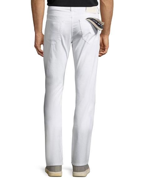 Lightweight Straight-Leg Jeans
