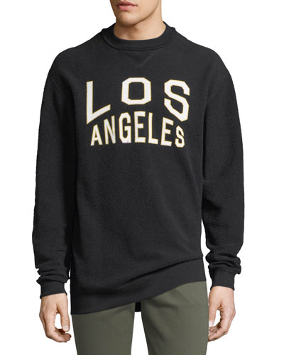 Oversized Reversible Los Angeles Sweatshirt