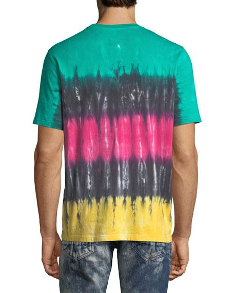 Striped Tie-Dye T-Shirt