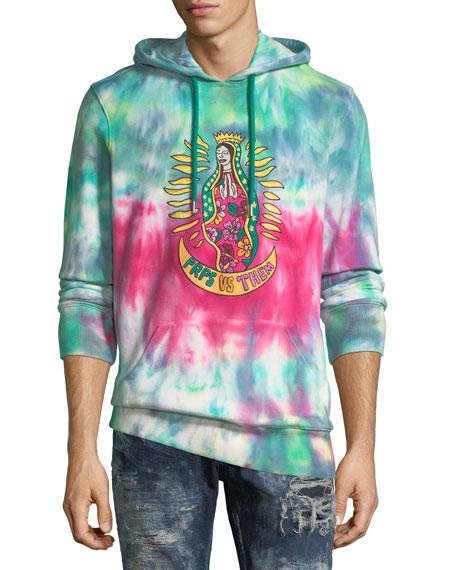 Tie-Dye Graphic Hoodie