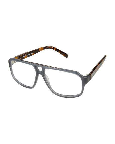 Two-Tone Plastic Optical Frames