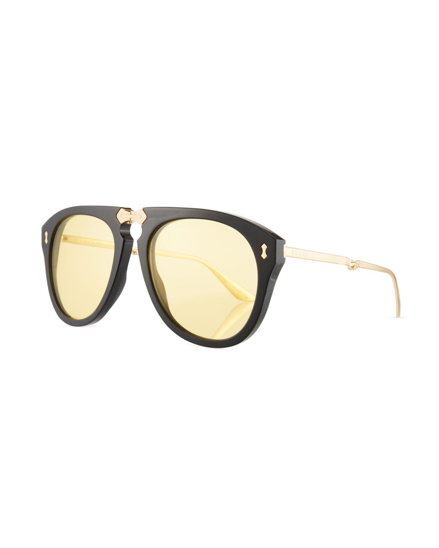 04ce4d406f Gucci Men s Foldable Acetate Sunglasses