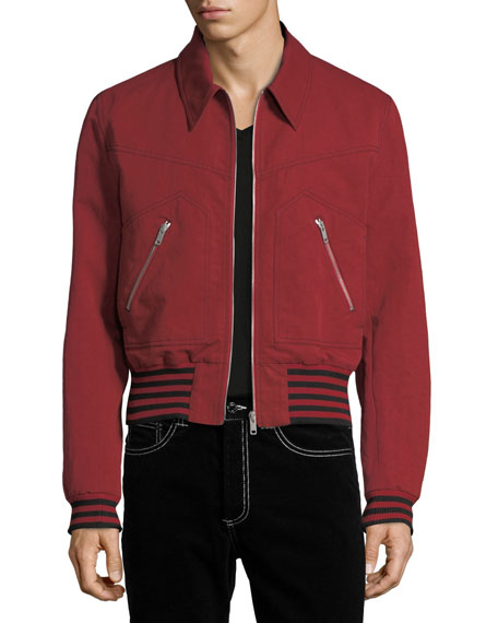 Givenchy Linen-Blend Bomber Jacket and Matching Items