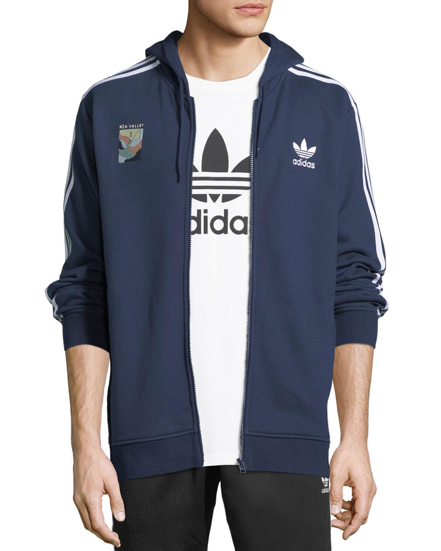 294efcae4fea Adidas Zip-Front Hooded Track Jacket