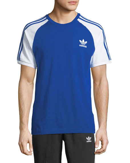 Adidas 3-Stripes Raglan-Sleeve T-Shirt