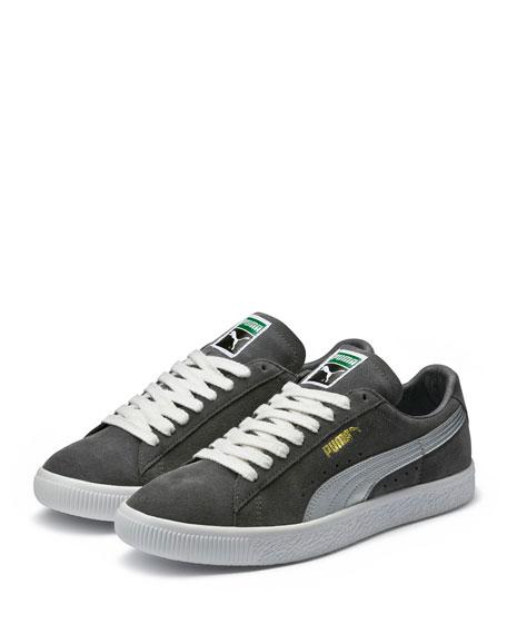 Men's Clyde Suede Platform Low-Top Sneakers