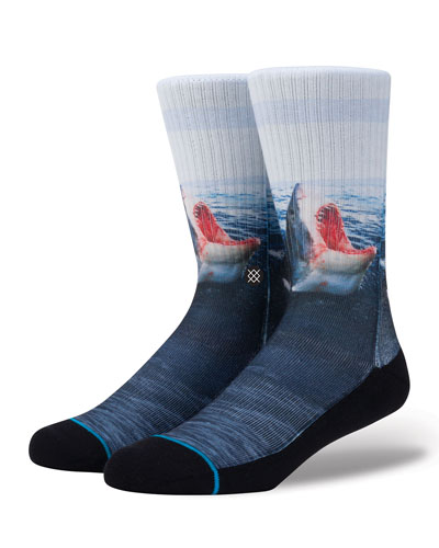 Men's Landlord Shark Socks