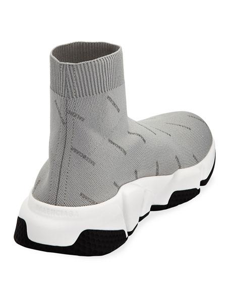Men's Speed Mid-Top Sock Sneakers