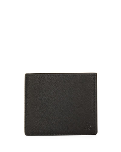 Boston Leather Billfold Wallet