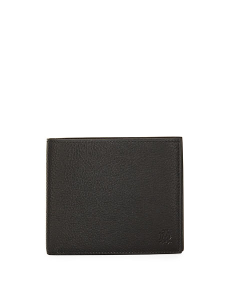 Boston Leather Billfold Wallet