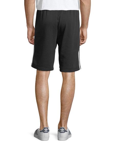 Side-Striped Knit Shorts
