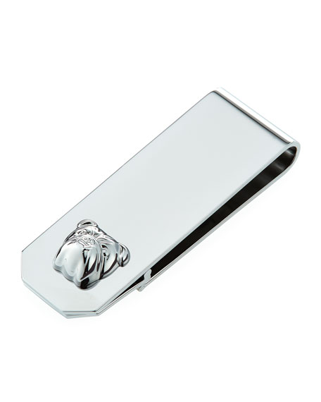 Bulldog Money Clip