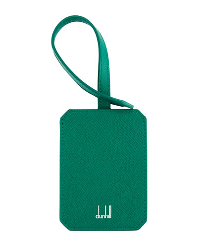 Cadogan Leather Luggage Tag